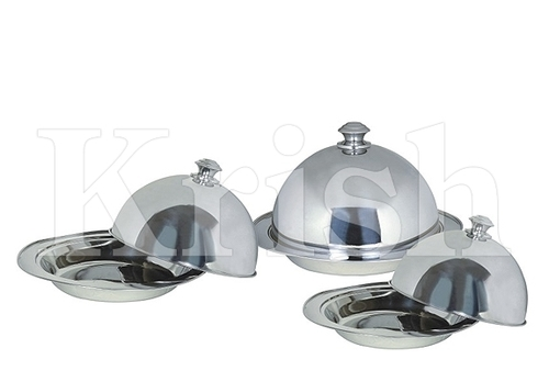Deep Round Kozi Dish With Dome Cover