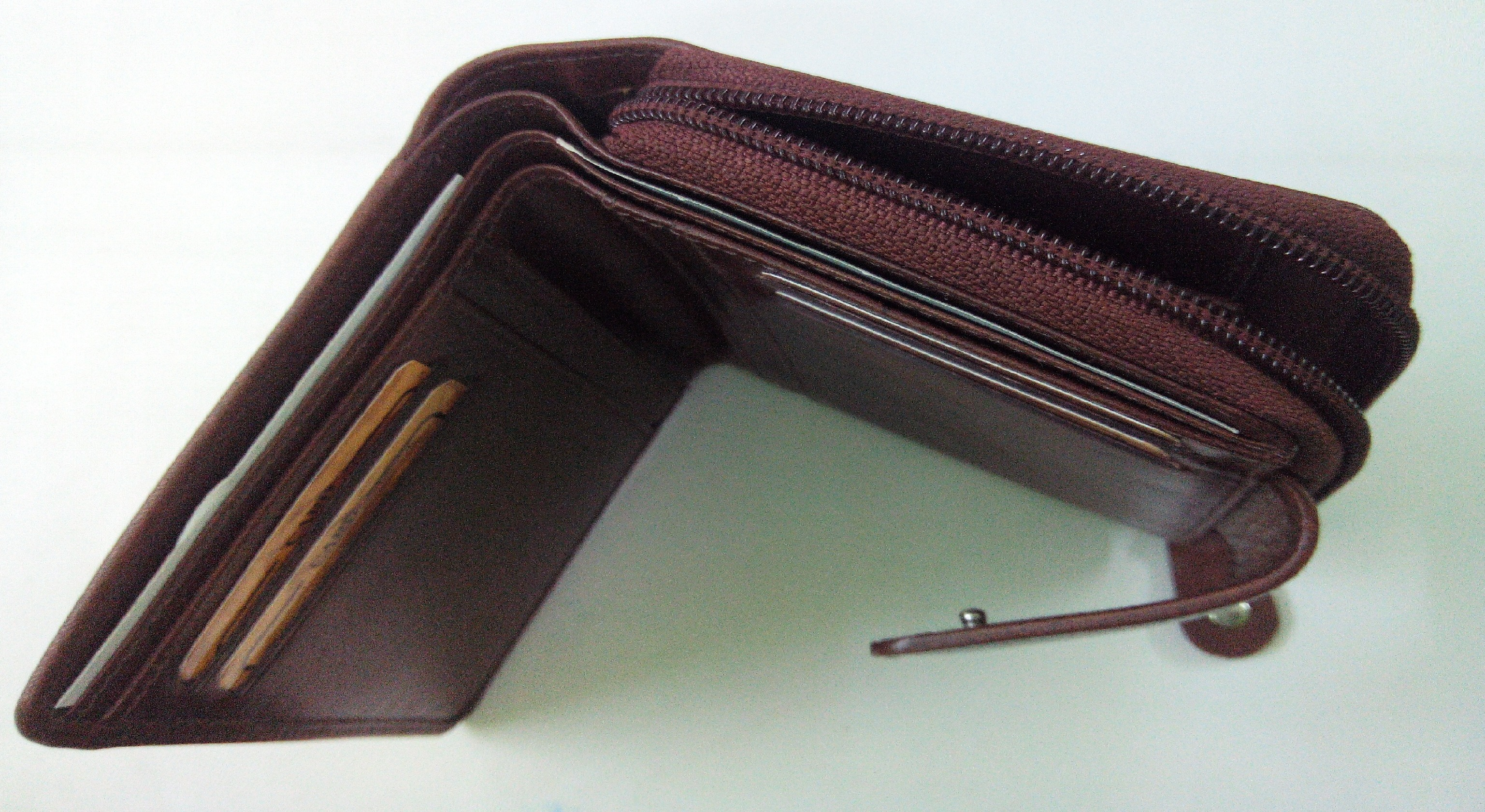 Genuine Leather Maxi-Wallet
