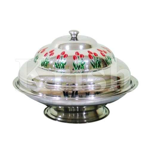 Deep Round Kozi Dish With Dome Step Cover