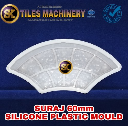 60 mm Silicone Plastic Mould