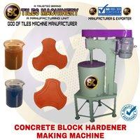 Concrete Block Hardener Making Machine
