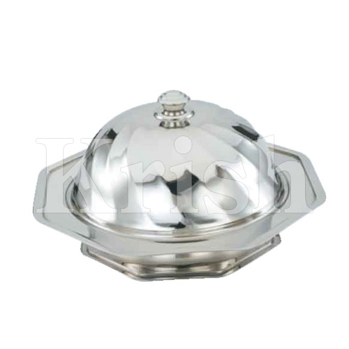 Octagan Kozi Dish with Cover & Stand