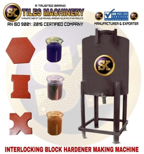 Interlcoking Block Hardener Making Machine