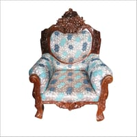 Wooden Carved Sofa Chair
