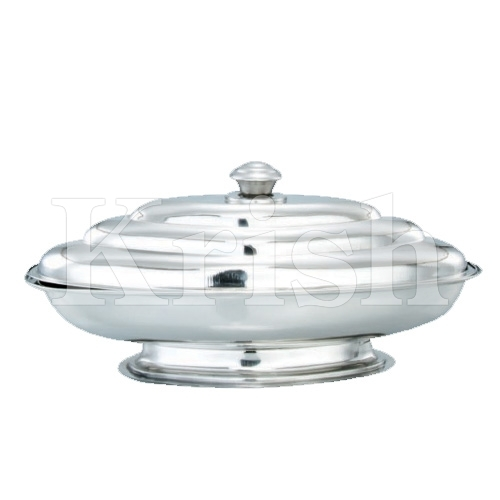 Ship Kozi Dish with Cover & Stand