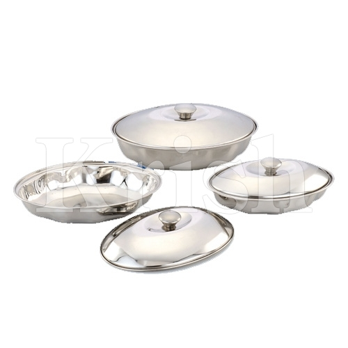 Oval KrisKross Dish