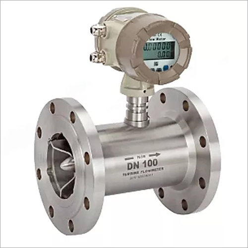 Measuring Gas Turbine Flowmeter