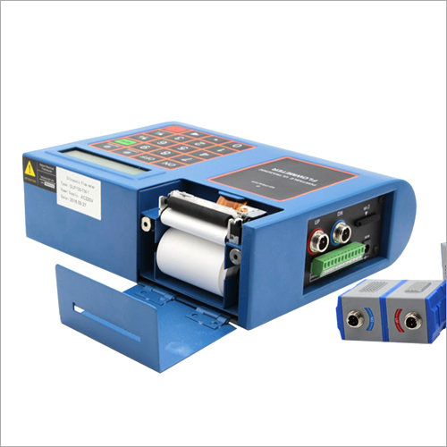 Portable Ultrasonic Flowmeter With Inbuilt Printer