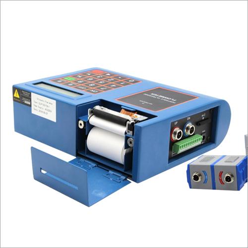 Portable Ultrasonic Flowmeter With Inbuilt Printer