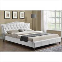 Georgio Diamante White Designer Bed