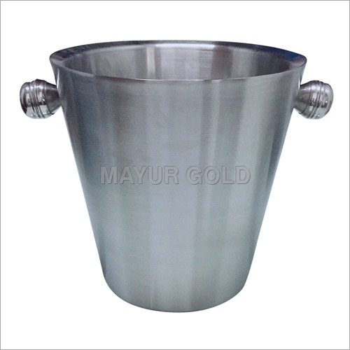 Stainless Steel Bar Ice Bucket