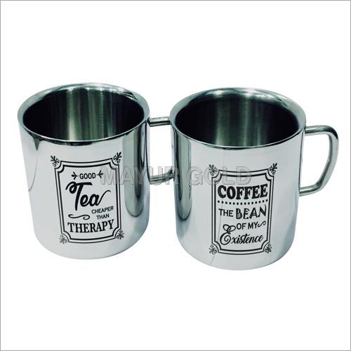 SS Printed Tea Cup