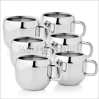 SS Fancy Tea Cup Set