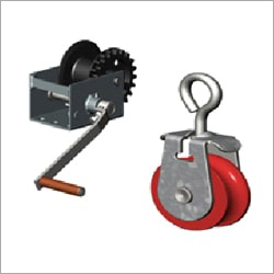 Feeder Curtain Winching System