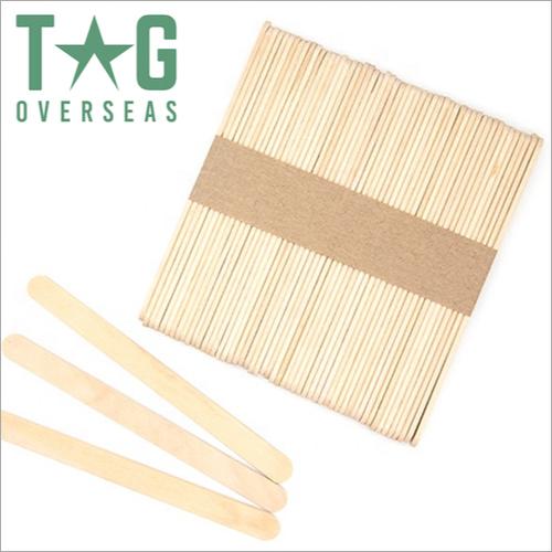 Disposable Wooden Ice Cream Sticks