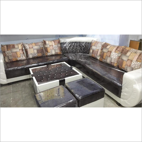 Funterior 6 Seater L-Shape Sectional Sofa Set