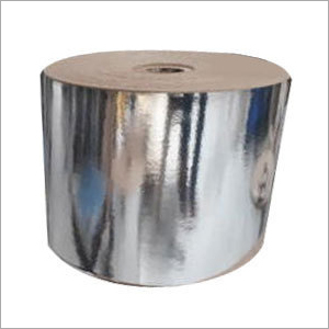 Silver Kraft Laminated Paper Roll