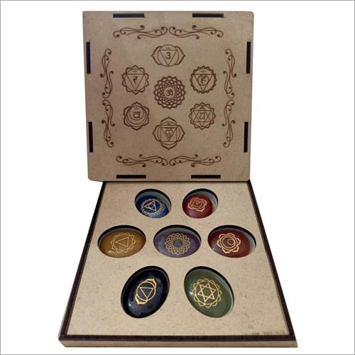 7 Chakra Reiki Symbol Stone