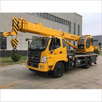 8 Ton Futian Chassis Crane