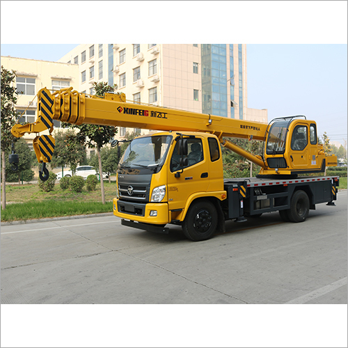 10 Ton With Futian Chassis Crane