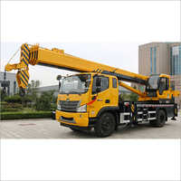 12 Ton With Futian Chassis Crane