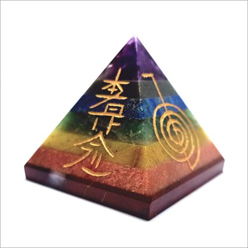 7 Chakra Rieki Pyramid