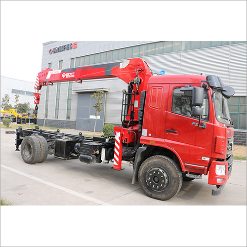 Five Boom Section Hydraulic  Crane