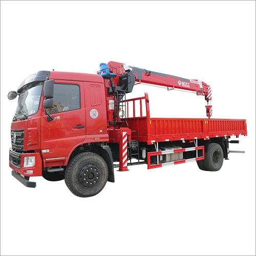 Four Boom Section Hydraulic  Crane