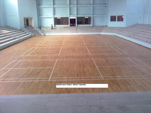 Volleyball Court Wooden Flooring