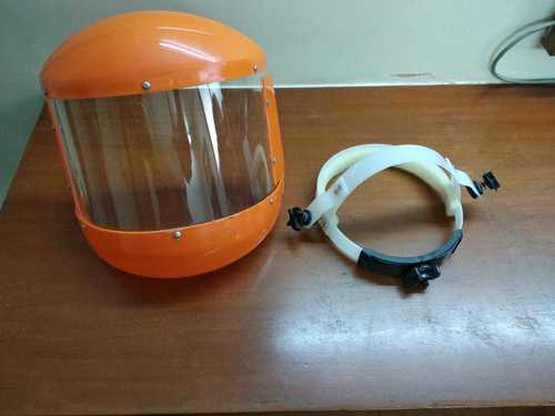 A Type Face Shield with Ratchet Belt