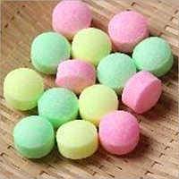 Colored Camphor Tablet