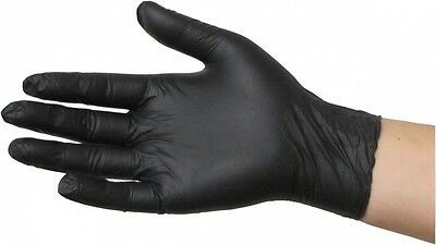 Nitrile Examination Black Hand Gloves