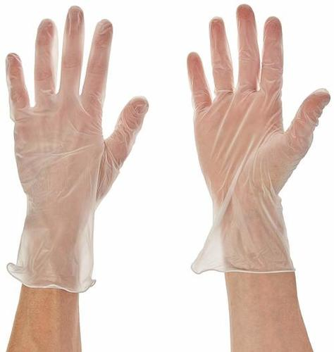 Vinyl Clear Hand Gloves