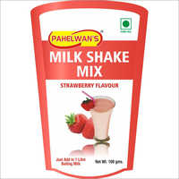 Strawberry Flavour Milkshake Mix