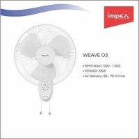 IMPEX Wall Fan (WEAVE O3)