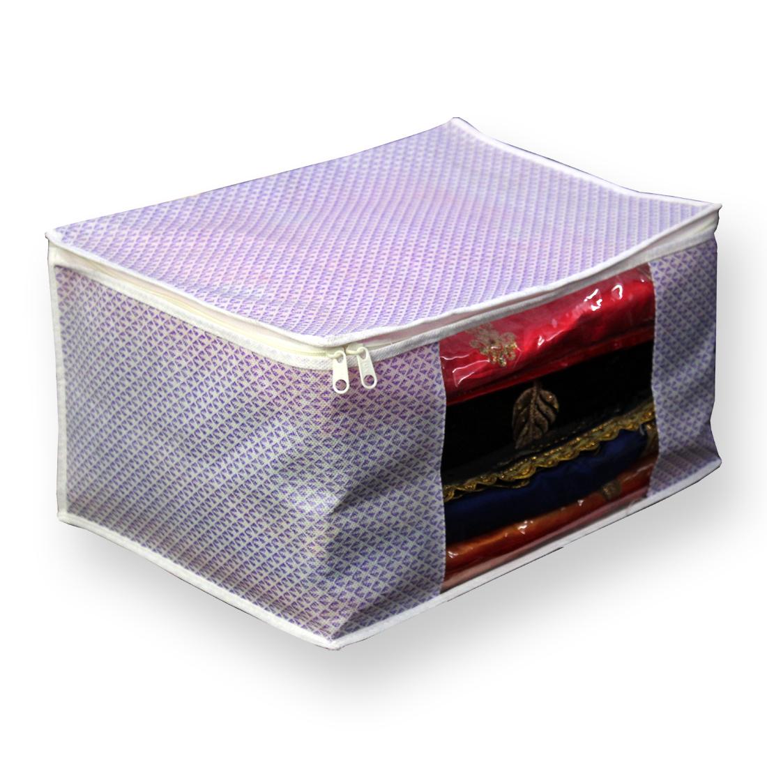 Multiple Saree Printed Packing Bag