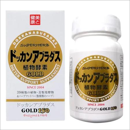 Dokkan Aburadas Gold, 45 g (300 mg \\303\\227 150 capsules)