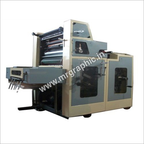 D Cut Non Woven Bag Offset Printing Machine