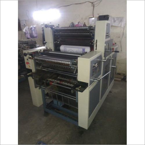 Industrial Non Woven Double Color Offset Printing Machine