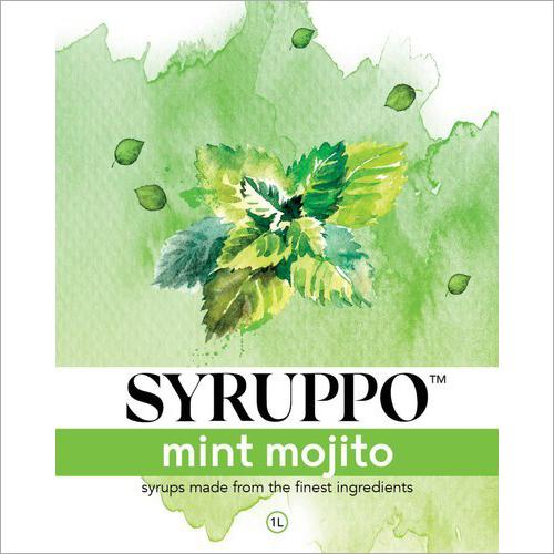 Mint Mojito Mocktail Syrup