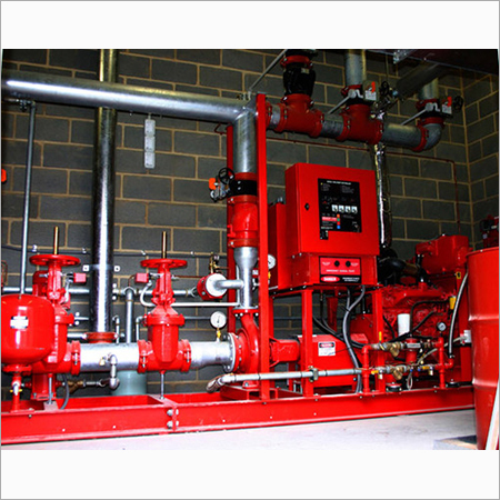 Fire fighting system installation