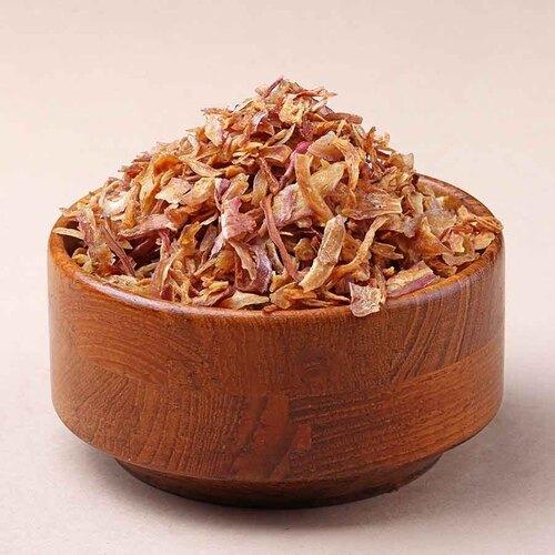 fresh fried Onion Flakes