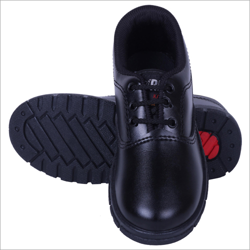 Synthetic Leather Boys School Shoes