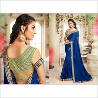 Elegant fancy chiffon saree