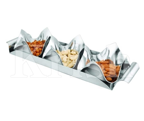 Tulip Bowl Snack Set- 3 Pcs