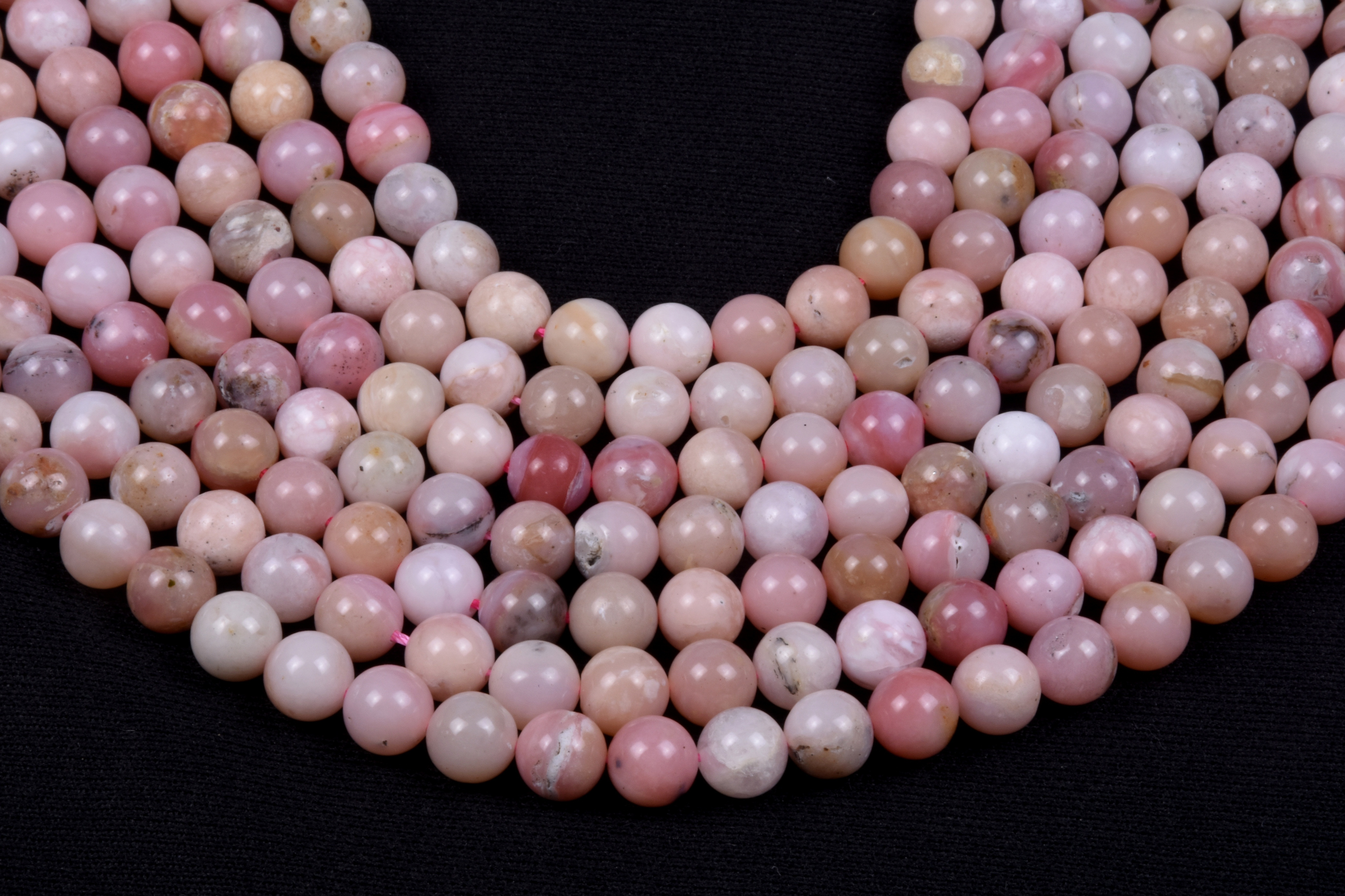 Pink Opal Beads