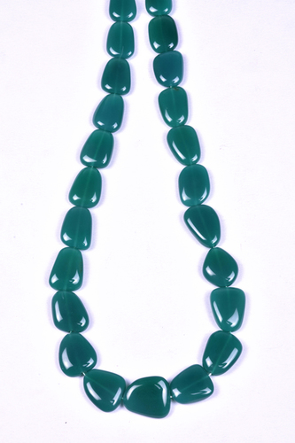 Green Onyx Flat Nuggets
