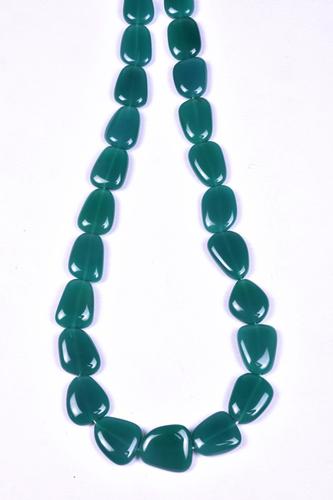 Green Onyx Flat Nuggets