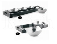 Opera Snack Tray Set With Wooden Stand