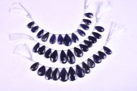Iolite Pears Beads